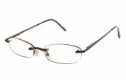 Magnivision Elegant Eyes Kristin Unisex Rimless Reading Glasses +1.00