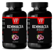 Echinacea root extract - ECHINACEA ROOT EXTRACT - Natural pain relief supplements - 2 Bottles 200 Capsules