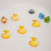 Bathtub Stickers Ducks - Safety Decals Treads Non Slip Anti-Skid Shower Applique