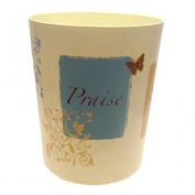 Mainstays Butterfly Blessing Decorative Bath Collection - Wastecan . Add An Inspirational Touch To Your Decor.