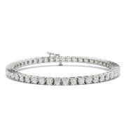 9.00ctw Diamond Tennis Bracelet in 14k White Gold