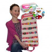 Tsum Tsum Shopkins Compatible Toy Organiser Bundle Pink