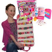 Shopkins Compatible Toy Organiser Bundle Pink