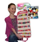 Disney   Shopkins Compatible Bundle Toy Organiser Pink