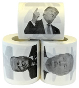 Fairly Odd Novelties Donald Trump Political Humour Funny Toilet Paper, (3 Set) by Fairly Odd Novelties