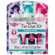 Tulip One-Step Tie Dye Paradise Punch 3 Colour Kit