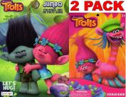 Dreamworks Trolls Lets Hug - Jumbo Colouring and Activity Book + Trolls Sticker Book