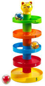Creative Time Drop and Roll 'n Swirl Ball Ramp Toy for Babies