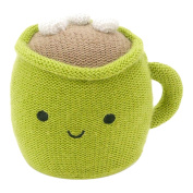 Hallmark Baby Festive and Fun Holiday Green Happy Hot Cocoa Cup Rattle