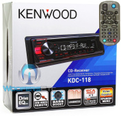Kenwood KDC-300cm -Dash 1-DIN CD Car Stereo Receiver with Front AUX Input