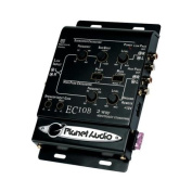 Planet Audio Ec10b 2 Way Electronic Crossover W/ Remote Woofer Level