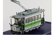1:87 Atlas Swiss One Trolley Bus Tram Toy LE CRABE AUX PINCES D'OR Diecast Model