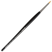 da Vinci Cosmetics Series 45750 Professional Eyeliner Brush, Pointed Round Synthetic, Size 4, 11.5 Gramme