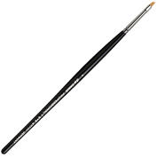 da Vinci Cosmetics Series 43730 Professional Eyeliner Brush, Angled Synthetic, Size 4, 9.5 Gramme