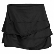 Lucky in Love Black Scallop Border Skirt
