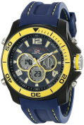 U.S. Polo Assn. Sport Men's US9322 Sport Watch with Navy Silicone Band