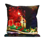 Clode® Christmas Santa Claus Pillow Case Sofa Home Waist Throw Cushion Cover