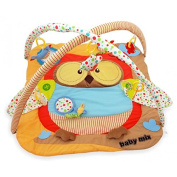 Activity Crawling Mat with Play Arch Owl Design
