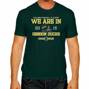Oregon Ducks The Victory Green 2015 We Are In College Football Playoff T-Shirt