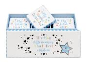 Baby Boy Tooth, Curl & Bracelet Keepsake Box Set
