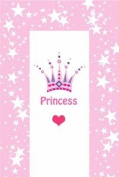 Changing Mat - Crown Princess in Baby Pink with Stars