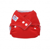 Reuseable Baby Pocket Cloth Nappies One Size Fits All-RED