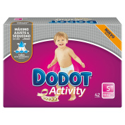 Dodot Activity, Size 5, For Children Weighing 11-17 kg - 42 Nappies