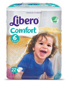 Comfort Nappies Size 6 (13-20 Kg) 22 Nappies