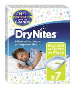 Huggies DryNites Bed Pad Mattress Protectors 7 Pieces - Pack Of 2