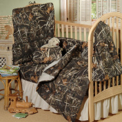 Realtree Max-4 Crib Bedskirt