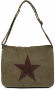 styleBREAKER Women's Cross-Body Bag olive One Size