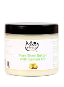 Whipped Organic Unrefined Shea Butter with Lemon Oil by My Shea