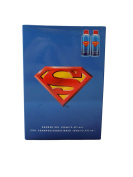 Superman Toiletry Set - Shower Gel + 2IN1 Shamppo / Conditioner Boxed Gift Set