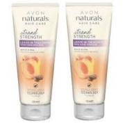 2 x Avon Naturals Golden Apricot & Shea Leave-in Treatment x 125ml