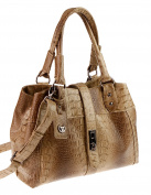 Valleverde Women's Shoulder Bag beige TORTORA/hellbraun