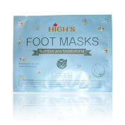 HIGH'S Nutritive Home Spa Pedicure Hand Mask Moisturising Socks, Normal