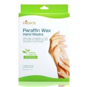 HIGH'S Home Spa Quick Heat Manicure Paraffin Wax Hand Mask Moisturising Gloves, Green Tea