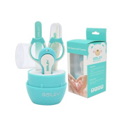 Baby Nail Clipper Set, Halovie Toddler Baby Nail Clippers Set with Scissors Nail File Tweezers Baby Nail Care Set