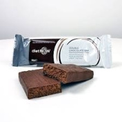 DIET NOW - Meal Replacement Bars High Protein Enriched With Vitamins - 12 pack - Double Chocolate Flavour
