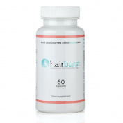 HAIRBURST TM Vitamins for Hair Growth - One Month Supply - 60 Capsules - Faster Hair Growth and .
