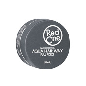 RED ONE AQUA HAIR WAX FULL FORCE MAXIMUM CONTROL GREY - 150ML