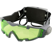 Yongse Night Vision Goggles Lens Adjustable Elastic Band Night Glasses Eyeshield Worldwide Green
