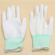 Yongse 1 Pair XINGYU PU508 13Gauge Nylon Nitrile Anti-static Palm Coated Work Safety Gloves