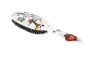 Rock & Ruddle Ponies Natural Bristle Hairbrush Large