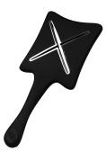 ikoo paddle X - beluga black