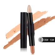 Molie Professional Highlight Face Eye Double-ended Concealer Pen Makeup Stick