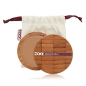 Zao Compact Foundation 730 Ivory/Light-Beige Apricot, Compact Natural Cosmetics Make-up Primer in a Refillable Bamboo Container Certified Bio/Vegan) Collection Etnik 2014 101730