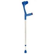 Forearm Crutch Big XXL Blue Anodized/