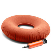 JJOnlineStore - Medical Inflatable 38cm inch Round Donut Cushion Ring Pressure Relief FREE Pump Wheelchairs Furniture Sofa Comfortable Travel Medical Pillow Bed Sores