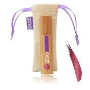 Zao Lip Lacquer 032 Plum Shimmer Purple in Bamboo Container Certified Bio/Ecocert/Cosmebio/Natural Cosmetics) Etnik 2014 Collection Lip Gloss Lip Pen 101032